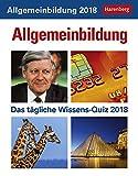 Produkt-Bild: Allgemeinbildung - Kalender 2018: Das tägliche Wissens-Quiz