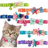 BPS® 2x Collar para Mascotas Gatos Gatitos o Perros Pequeños con Campana Color envia al azar 30 x 1 cm BPS-8047*2