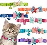 BPS 2x Collar para Mascotas Gatos Gatitos o Perros Pequeños con Campana Color envia al azar 30 x 1 cm BPS-8047*2