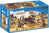 Playmobil 5248 Covered Wagon with Raiders