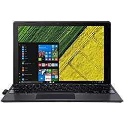 "Acer Switch 5 SW512-52-51MH - Ordenador portátil de 12"" (Intel Core i5-7200U, 8 GB RAM, 256 GB SDD, Intel HD 620, Windows 10 Home) Gris- Teclado QWERTY Español"