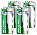 tka Köbele Akkutechnik Batterie LR14: Sparpack Alkaline Batterien Baby 1,5V Typ C im 4er-Pack (Batterien Alkalische)