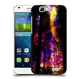 Head Case Designs Offizielle Haroulita Saturn-Blitz Raum Ruckseite Hülle für Huawei Ascend G7