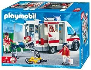 PLAYMOBIL 4221 - Rettungstransporter