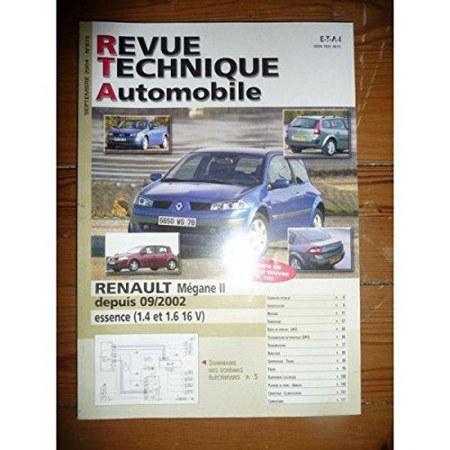 Rta-revue Techniques Automobiles - Megane II 02- Revue Technique Renault