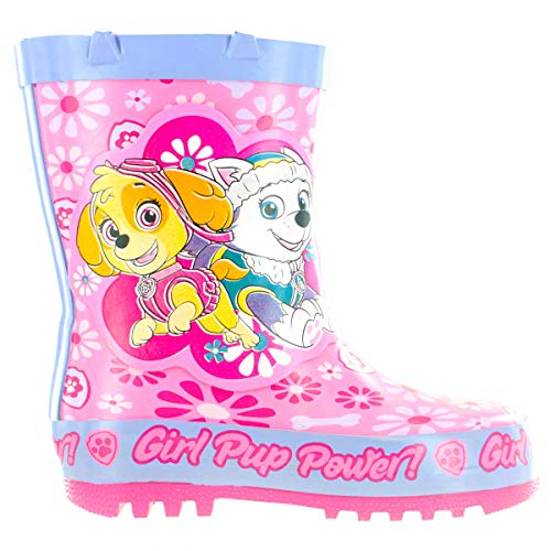 Girls Paw Patrol Grainsgill Pink Wellies
