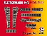 Fleischmann 6191 - Profi Gleis - Rangier-Set
