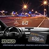 'Hud X5 3 de voiture universelle HUD Head Up Film de x5 limiteurs de vitesse Avertissement...