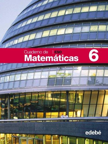 Cuaderno 6 Matemáticas - 9788423687497