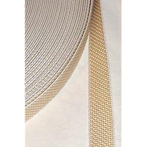 5 m Rolle stabil Rolladengurt – beige – Breite 23 mm – extra stark – hohe Reißfestigkeit – UV Beständigkeit…