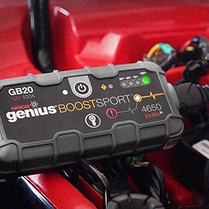 NOCO Booster de batería Ultra Compact Litio 400A