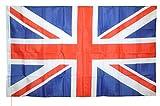 Flag United Kingdom Great Britain UK Flagge Großbritannien Union Jack cm 90x 150Hochwertig Stoff Strapazierfähig