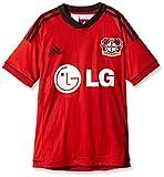 adidas Kinder Heimtrikot Bayer Leverkusen, Rot/Schwarz, 176, Z75129