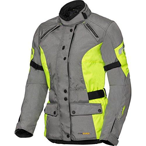 Damen Touren Textiljacke 1.0 neon-gelb M (Neon Mohawk)