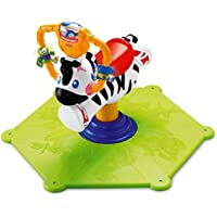 Fisher Price Bounce n Spin Zebra
