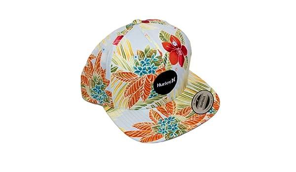 41969364f Hurley Spring 13 Flammo Krush Snapback Cap Floral Hawaii: Amazon.co ...
