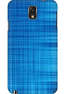 AMEZ designer printed 3d premium high quality back case cover for Samsung Galaxy Note 3 (Blue-Lines-Abstract-iphone-5--ilikecom)