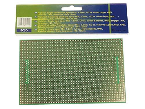 VS-Electronic VELLEMAN 140349 Europlatine SUBD25/CENTR - 100x160mm 1403491
