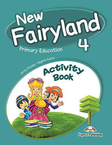 New Fairyland 4 Primary Education Activity Book (Spain)