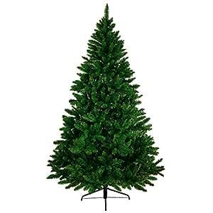 Albero di Natale artificiale WONDERLAND in 5 misure e 3 colori di BB Sport, Colore:verde scuro; 180 cm (1.030 punte)