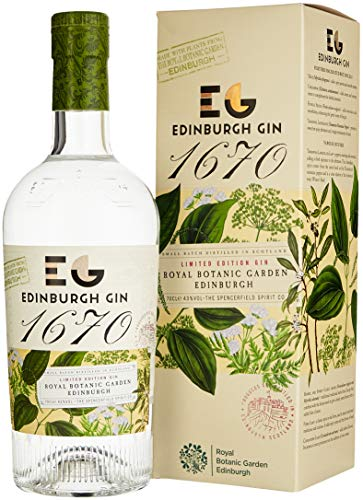 "Edinburgh Gin 1670 limited Edition - hochgelobt im Gin Blog ""The Gin Kin\"""