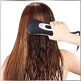 Spazzola Lisciante Ferri Piastra per Capelli Spazzola per capelli raddrizzatore pettine ad aria calda, pettine a ioni negativi, mini asciugacapelli.