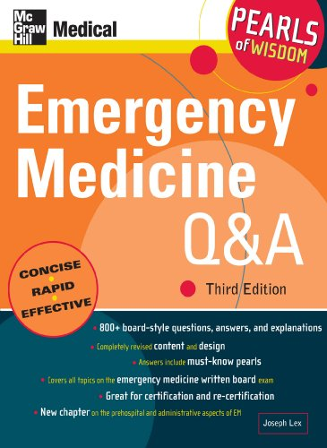 Emergency Medicine Q&A: Pearls of Wisdom, Third Edition: Pearls of Wisdom, Third Edition (eBook)