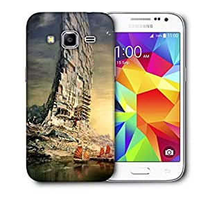 Snoogg Boat Building Printed Protective Phone Back Case Cover For Samsung Galaxy Core Plus G3500