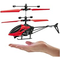 Boriva Kids Flying Exceed RC Helicopter with 3D Lights and USB Charger (Assorted Colours)