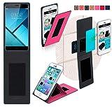 Hülle für TP Link Neffos C7 Tasche Cover Case Bumper | Pink | Testsieger