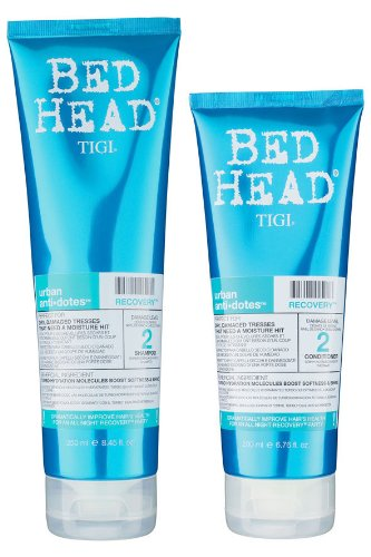 Tigi Bed Head - Recovery Set Shampoo - 250 ml + Spülung - 200 ml