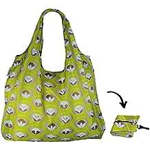 f3add28caa Re-Uz Lifestyle Shopper XL - pieghevole grande borse della spesa  riutilizzabili - Flower Power