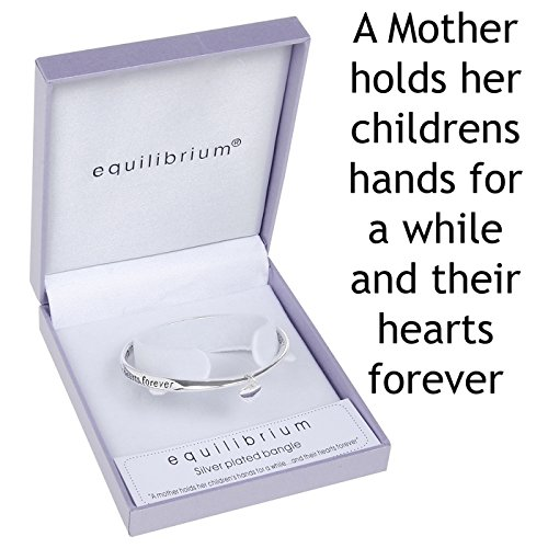 equilibrium-silver-plated-bangle-a-mother-holds-their-childs-hand-for-a-whileand-their-hearts-for-ev