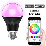 MagicHue Neu Smart LED Bluetooth Gegenwert 60W RGBW Lampe, 16 Mio Farben und DIY Leuchtmittel...