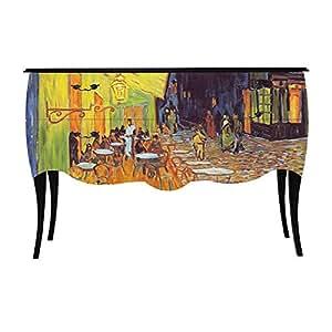 Print Baroque - Van Gogh Grande commode à 2 tiroirs - Imprimé tableau