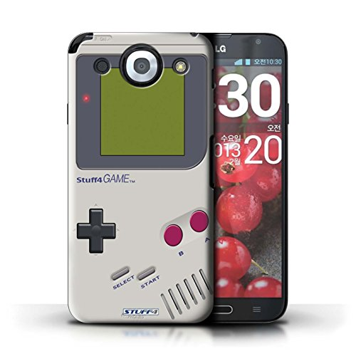 Stuff4 Hülle / Hülle für LG Optimus G Pro / Nintendo Game Boy Muster / Spielkonsolen Kollektion
