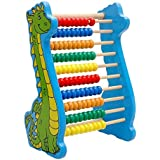 Lewo Dinosaur Bead Abacus Kids Math Games Learning Counting Frame Toys