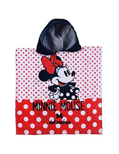 Minnie- Capa de baño con Capucha para niña