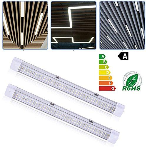 Preisvergleich Produktbild 2Pcs Auto Licht Streifen Auto LED Innenraumbeleuchtung Lichtleiste Auto LED Leuchten mit Active Funktion für Innenräume Kit Set 72 LED