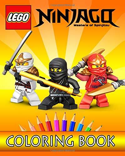 Preisvergleich Produktbild LEGO NINJAGO Coloring Book: Coloring Book for Kids - 30 Easy Illustrations for Coloring