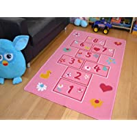 Kids Non Slip Machine Washable Hopscotch Play Mat. Available in 2 Sizes