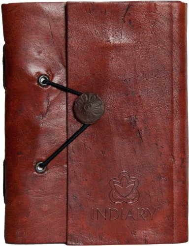 indiary-luxury-notebook-buffalo-leather-and-handmade-paper-leather-shuffle