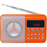 Obit//Landmark- by deals_india Portable Rechargeable Obit FM Radio with SD, USB, AUX Slots