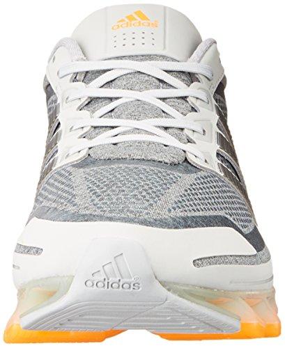 Adidas Springblade scarpa da corsa, blu Solare / argento / nero, 7 Us Clear Grey / Metallic Silver / Zest