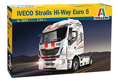 Italeri 3899 - iveco stralis hi way euro 5 model kit scala 1:24
