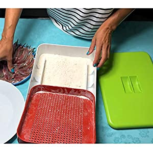 franquicias restaurantes: La Croquetera LC043 Kit PREMIUM: Utensilio Multiusos 4 moldes Intercambiables (c...