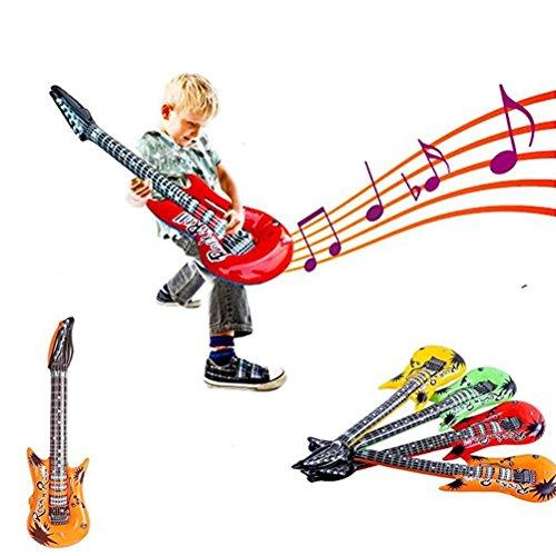 Omiky® 4 Stücke 55 cm Aufblasbare Luftgitarre Zubehör Party Decor Kinder Spielzeug