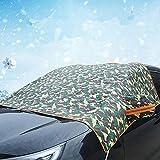 HuaXX Parasole per Auto Parabrezza Interno Parasole Auto Parabrezza Anteriore Copertura antigelo Schermo Auto Sfumare Le tonalità della Finestra Green Thick,Free Size