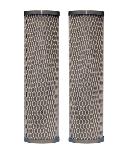 DuPont WFPFC8002 Universal Whole House Carbon Wrap 2-Phase Cartridge, 2-Pack