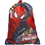 Best Spider-Man Book Bags For Boys - Personalised MARVEL Ultimate SpiderMan Drawstring School Sports Gym Review